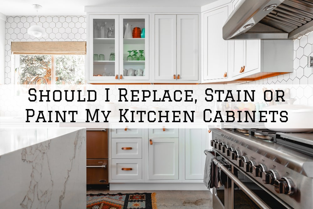Should I Replace, Stain or Paint My Kitchen Cabinets - Aspen ...
