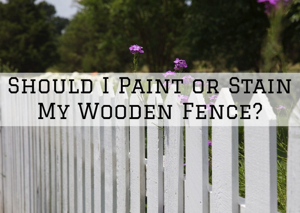 fence refinishing