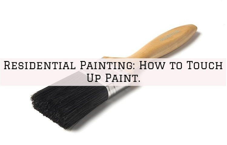 Residential Painting Ambler, PA_ How to Touch Up Paint.