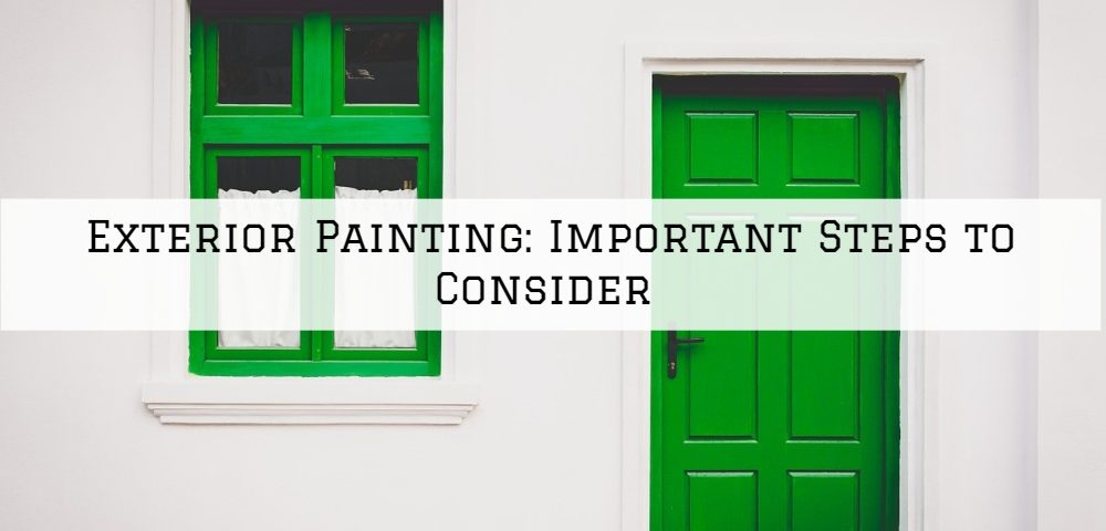 Exterior Painting Blue Bell, PA: Important Steps to Consider