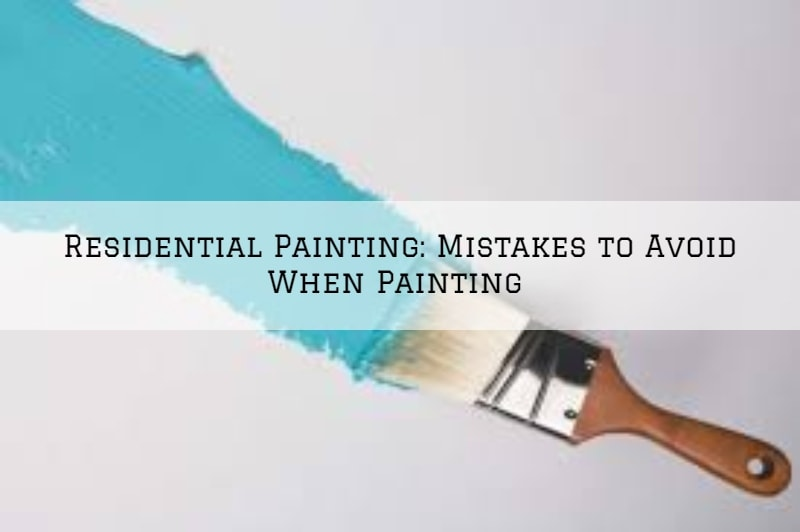 Residential Painting, Horsham, PA_ Mistakes to Avoid When Painting