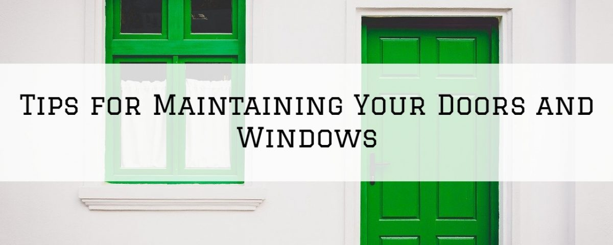 Tips for Maintaining Your Doors and Windows in Blue Bell, PA
